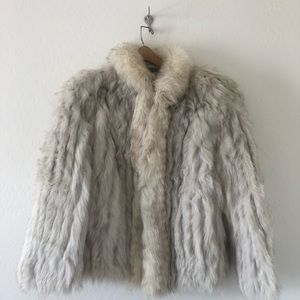 Vintage Saga Fox Fur Coat